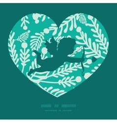 emerald green plants shooting cupid vector image