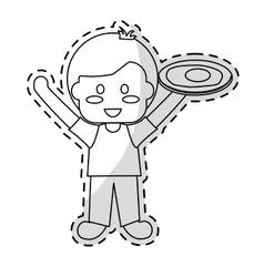 kids food nutrition design vector image