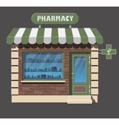 Pharmacy drugstore icon vector