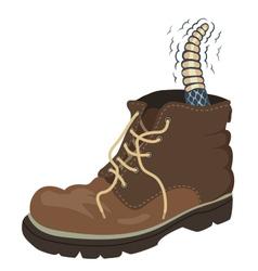 Rattler boot vector