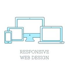 Responsive design vector