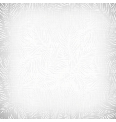 Floral Canvas Texture vector image vector image