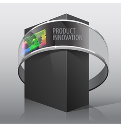 Package Box For presentation vector image vector image