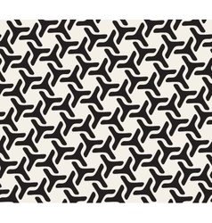 Seamless Rounded Lines Geometric Pattern vector image