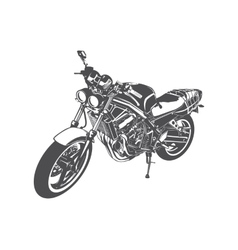 Sport motorcycle vector image