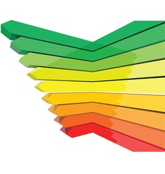 left arrow vector image