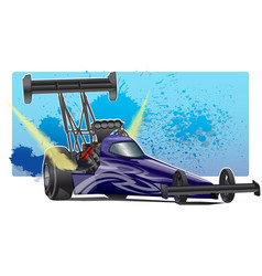 TopFuelDragster vector image vector image
