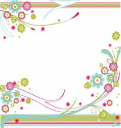 tropical garden vector image
