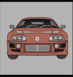 Cartoyota supra 1994 vector