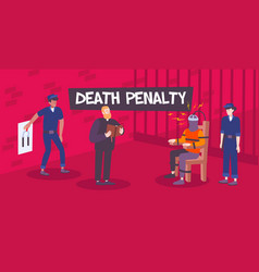 Death penalty flat composition vector