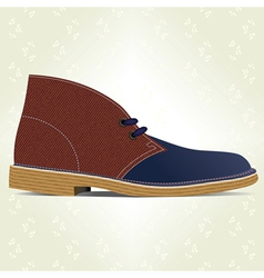 Desert boot vector