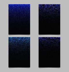 diagonal square pattern brochure design - mosaic vector image