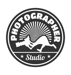 Photographer studio vector