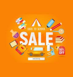 School sale vector