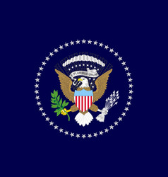 Usa presedents flag vector