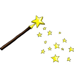 wand vector image