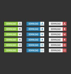 Download web button vector