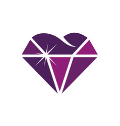 diamond cosmetic dentistry vector image
