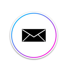 envelope icon email message letter symbol vector image