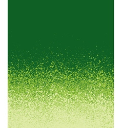 Graffiti spray painted green gradient background vector