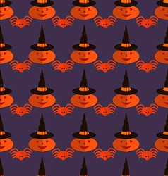 Halloween pattern26 vector image