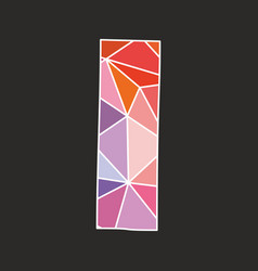 I low poly wrapping surface pastel colorful vector