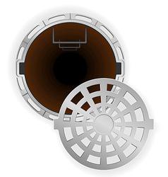 Manhole 07 vector