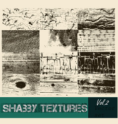 Pack of textures and strokes and textures vector