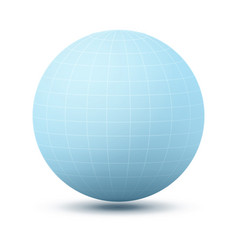 round shape icon planet vector image