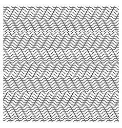 Seamless wavy stripes pattern vector