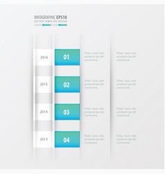 timeline design design blue gradient color vector image