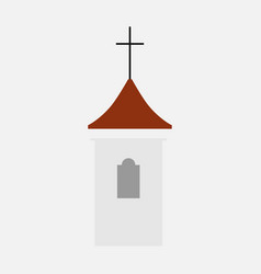 church building vector image vector image