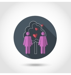 Lesbians iconBe free vector image