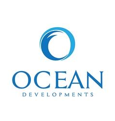 Ocean Development Company Identity vector image