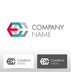Industry logo design vector