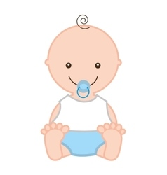 little baby isolated icon design vector image