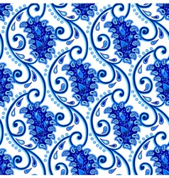 Paisley porcelain vector