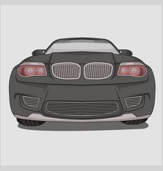 sport car bmw m1 vector image