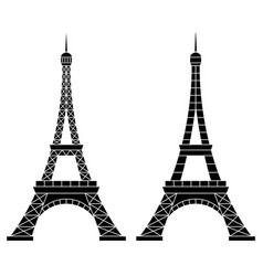 Eiffel tower paris vector