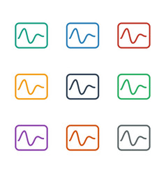 Electricity icon white background vector