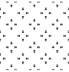 Minimalist seamless pattern black white shapes vector