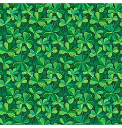 Pattern clover vector