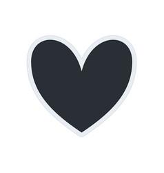 photo frame heart vector image