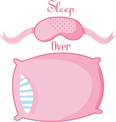 Sleep Over vector