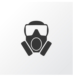 Toxic gas icon symbol premium quality isolated vector