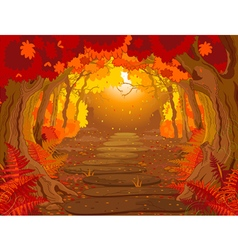 Magic Forest vector image vector image