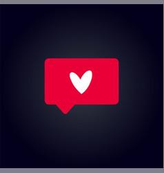 Counter notification icon vector