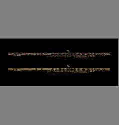 flute instrument cartoon music graphic vector image