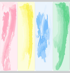 four-color color palette vector image