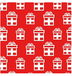 gifts presents pattern background vector image
